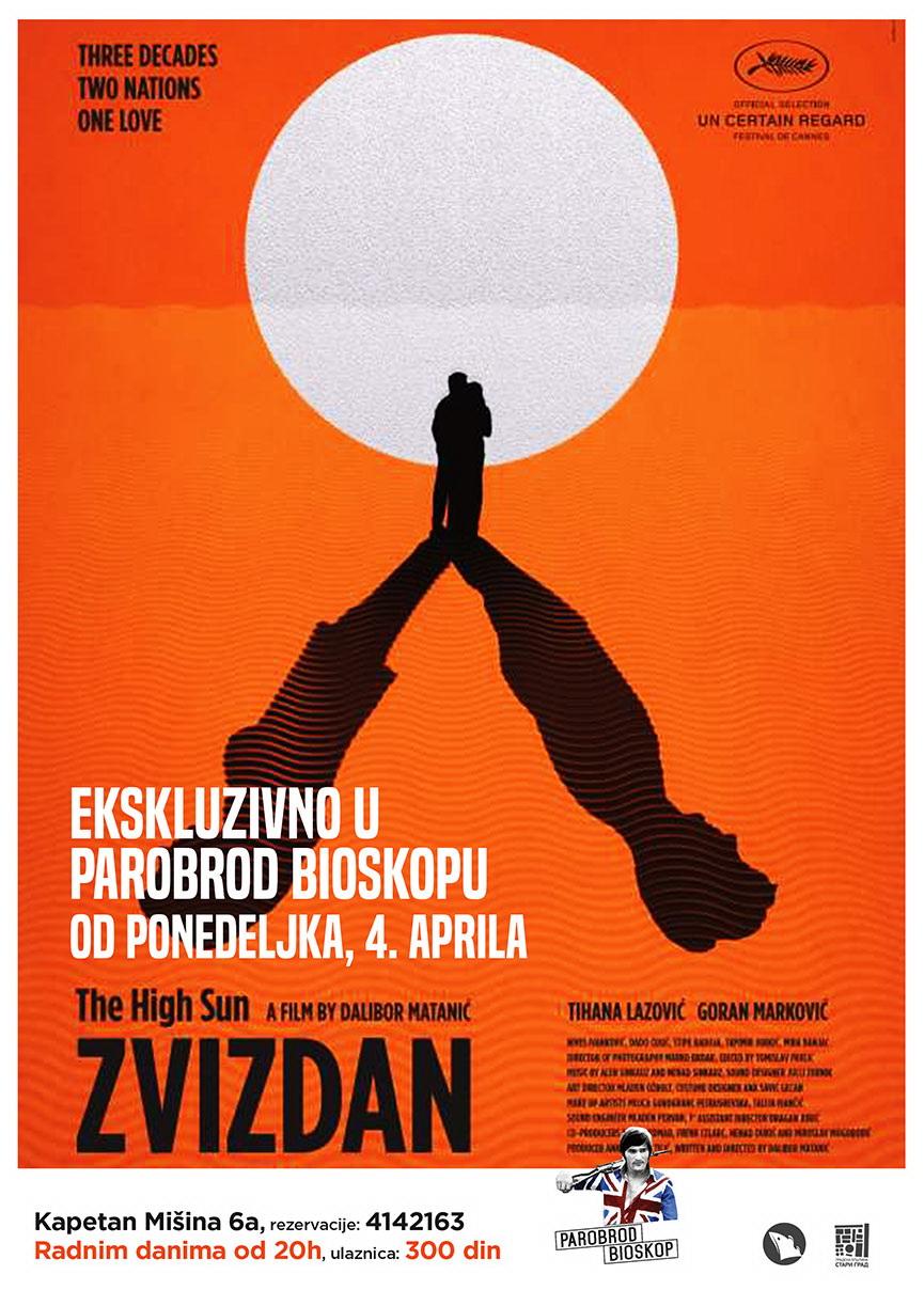 Film Zvizdan, bioskop Dragan Nikolić
