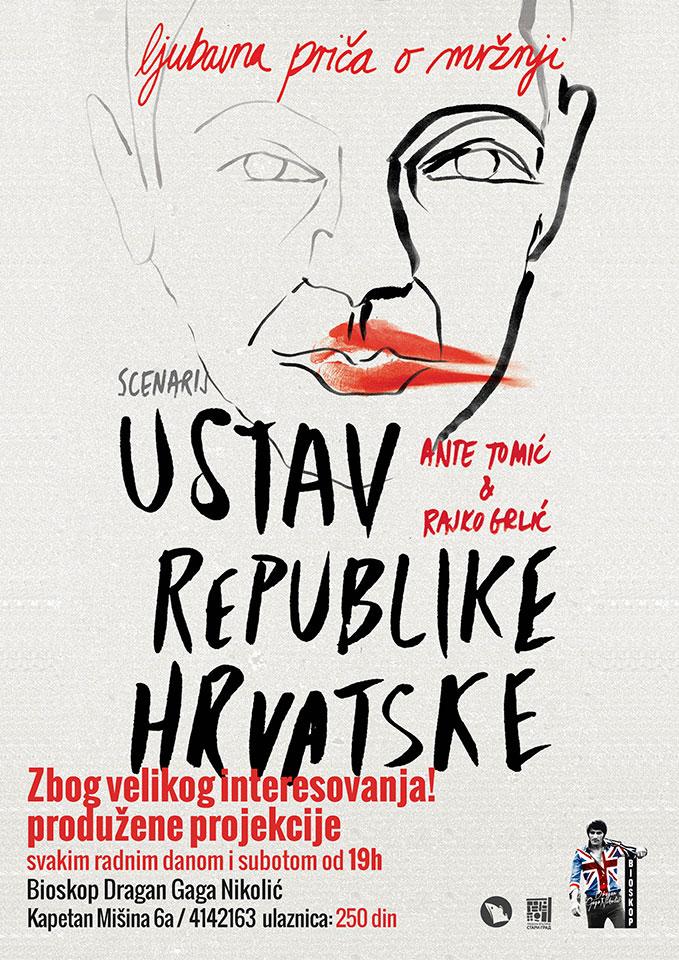 Ustav Republike Hrvatske, Bioskop Dragan Gaga Nikolić