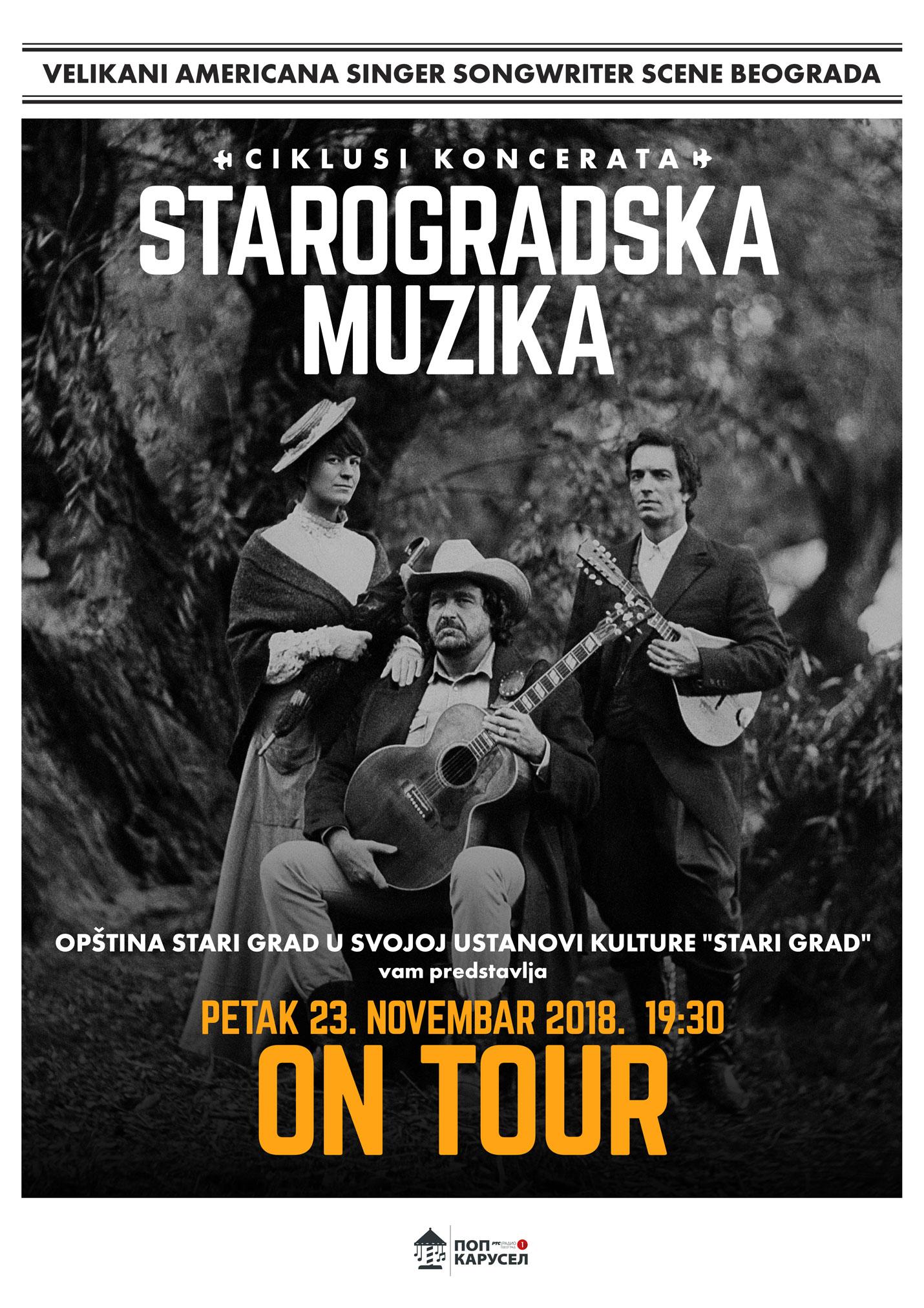 On Tour – Starogradska muzika u savremenom aranžmanu