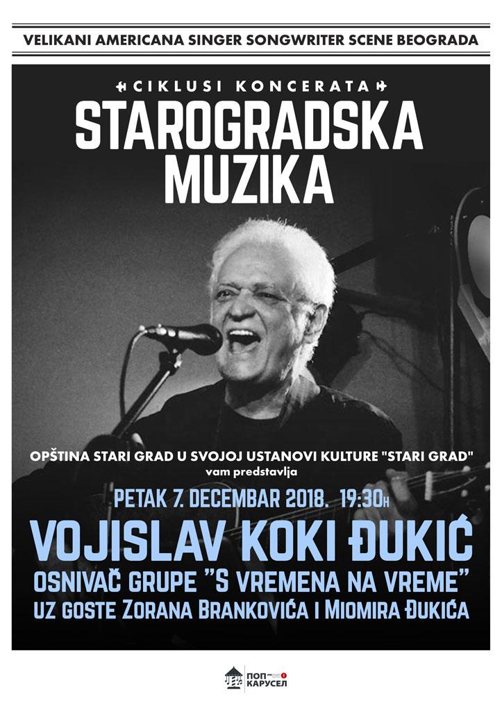 Starogradska muzika – Vojislav Koki Đukić