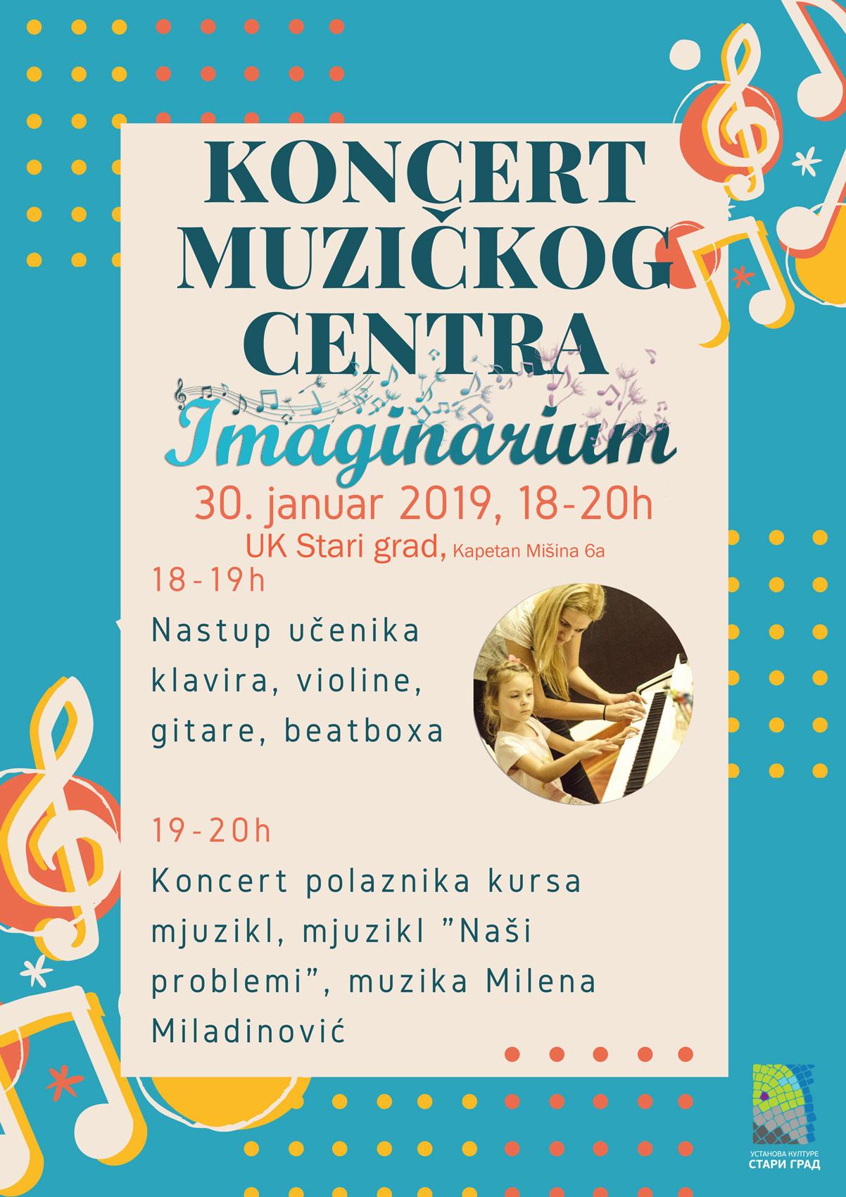 "Koncert muzičkog centra ""Imaginarijum"""