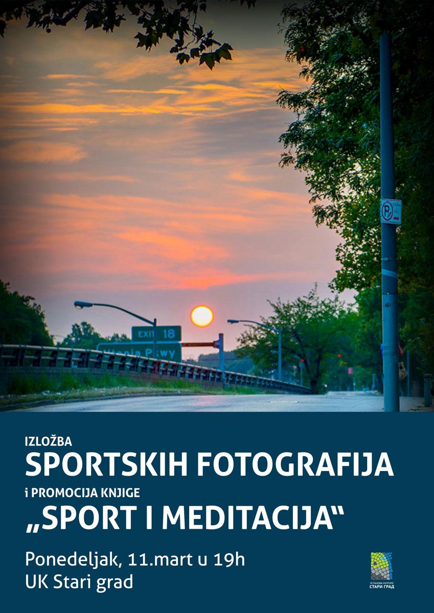 """Izložba sportskih fotografija i promocija knjige """"Sport i meditacija"""""""