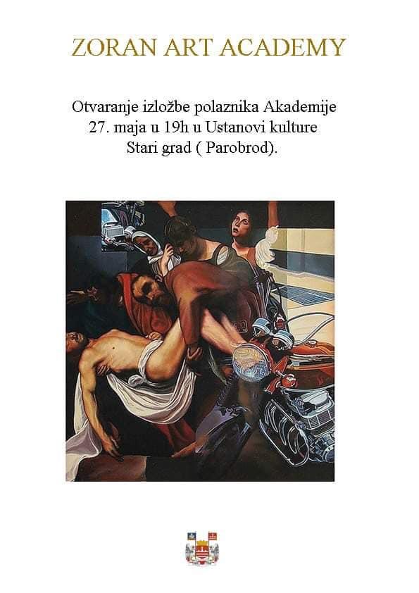 Izložba polaznika Zoran Art Academy