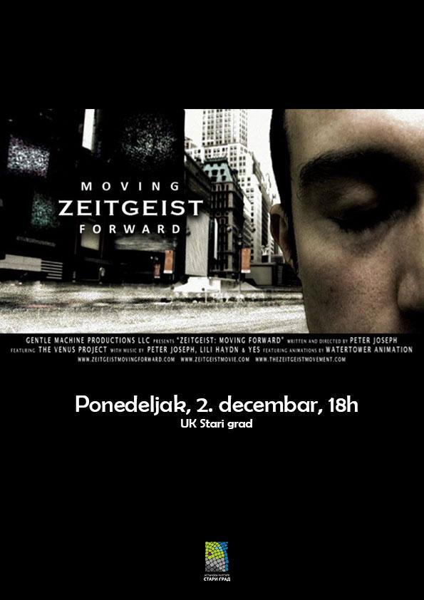 Film i diskusija: Zeitgeist – Duh vremena: Korak napred (2011)