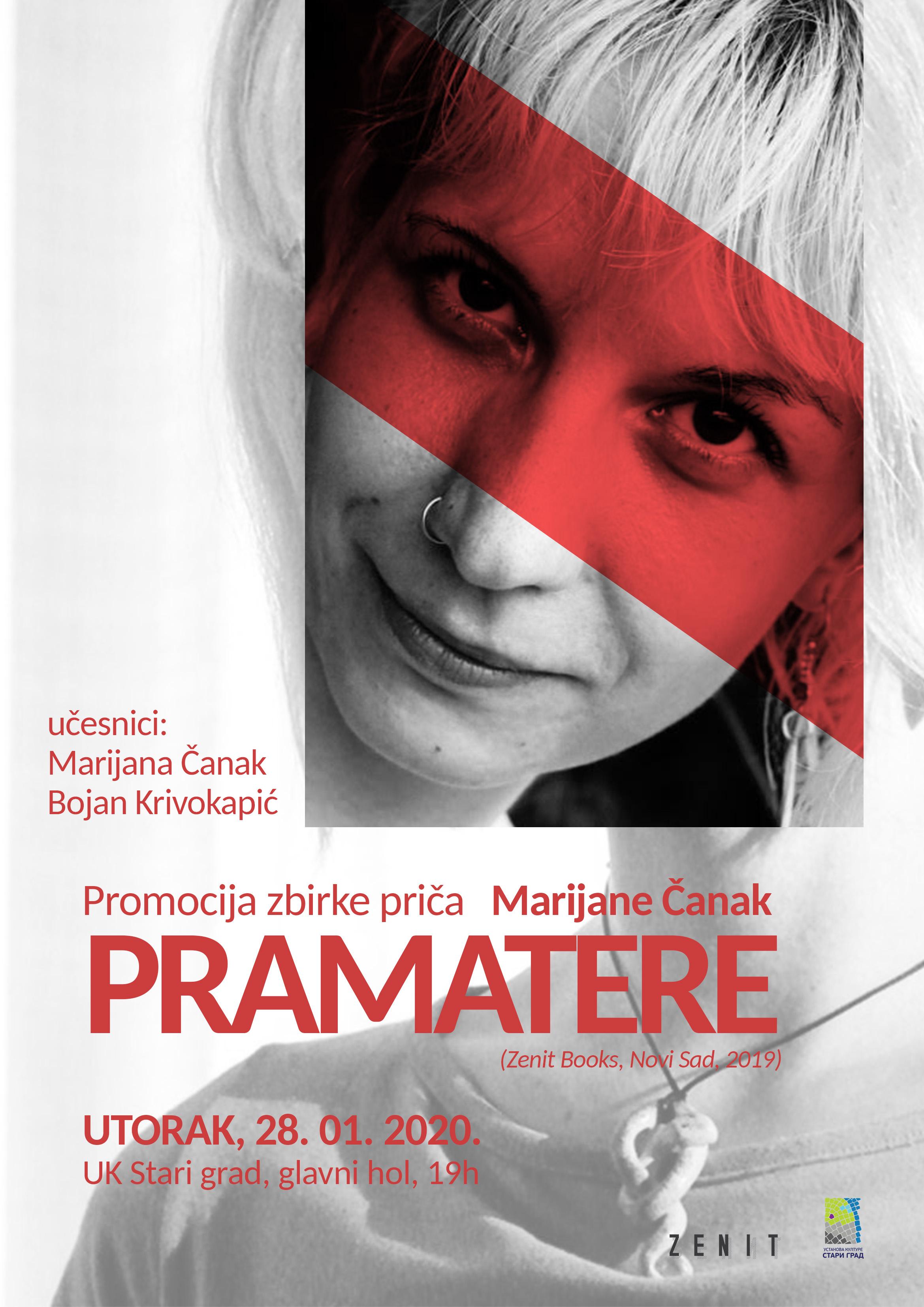 """Promocija zbirke priča """"Pramatere"""" Marijane Čanak"""