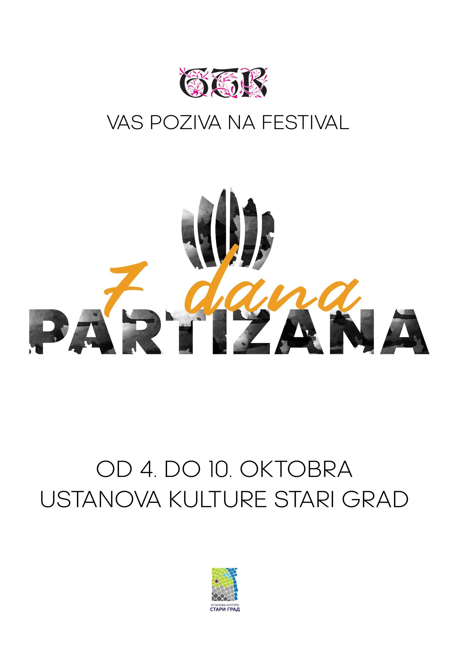 GTR Festival 7 dana Partizana