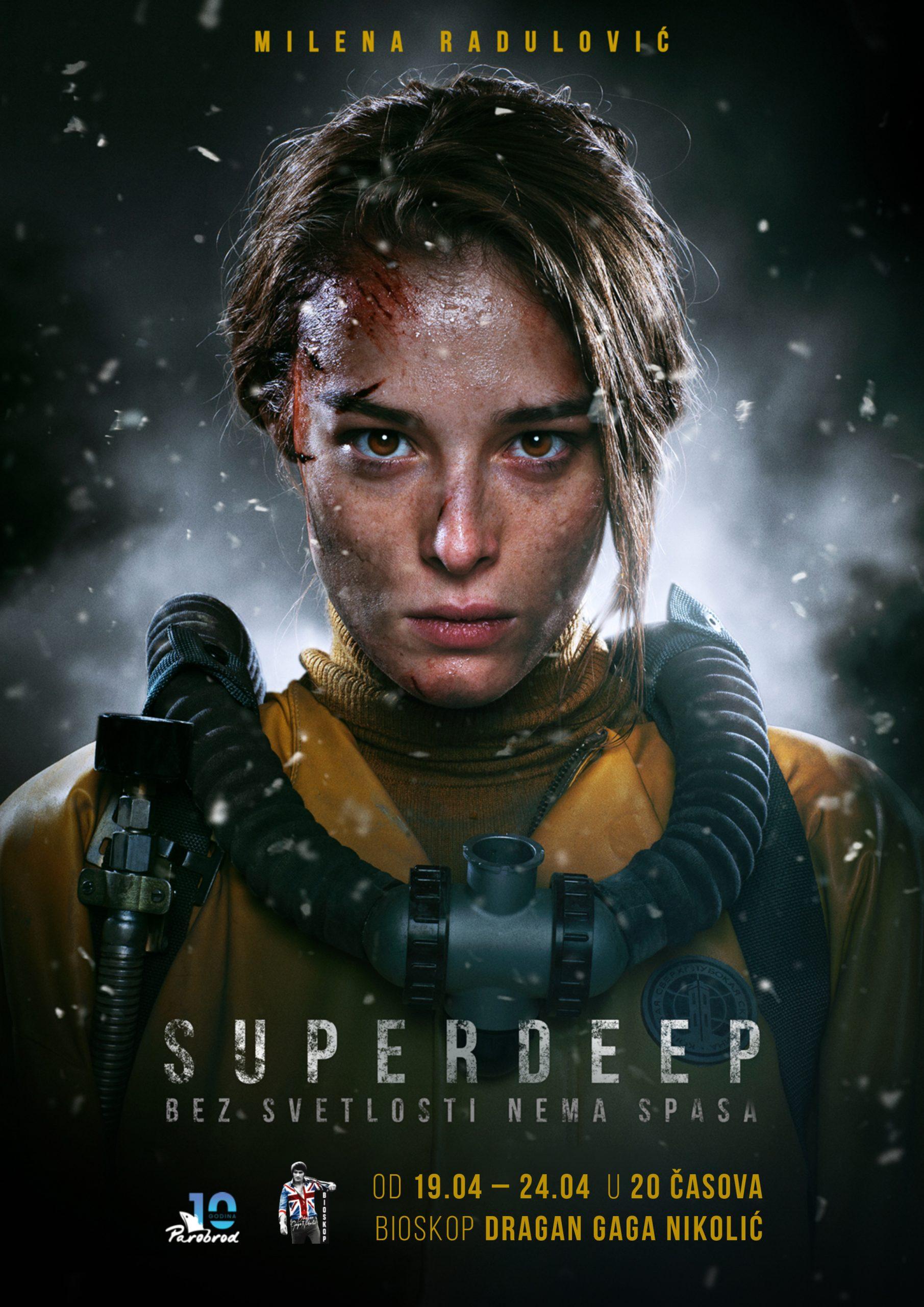 """Projekcija filma """"Superdeep"""""""