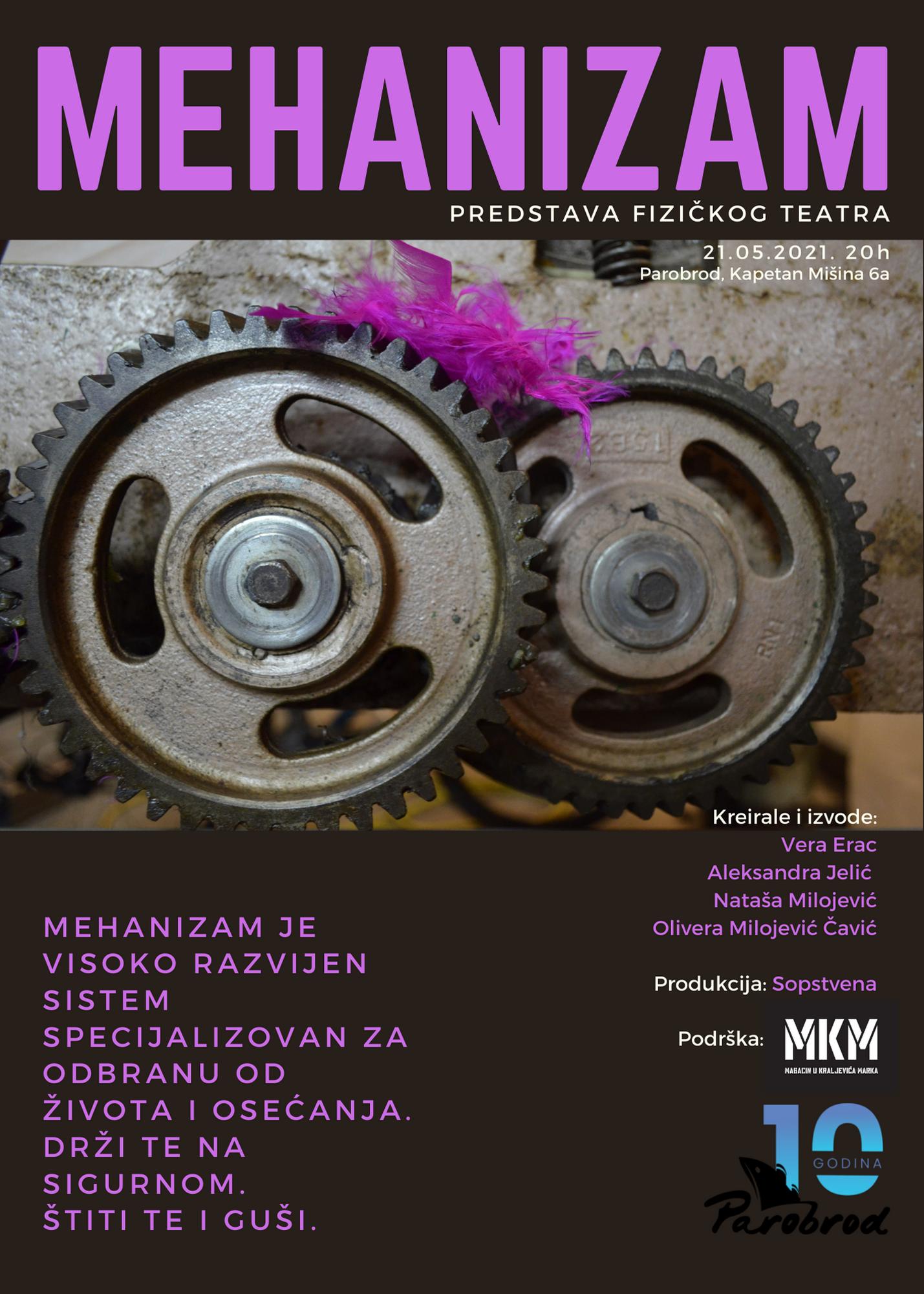 Mehanizam predstava fizičkog teatra