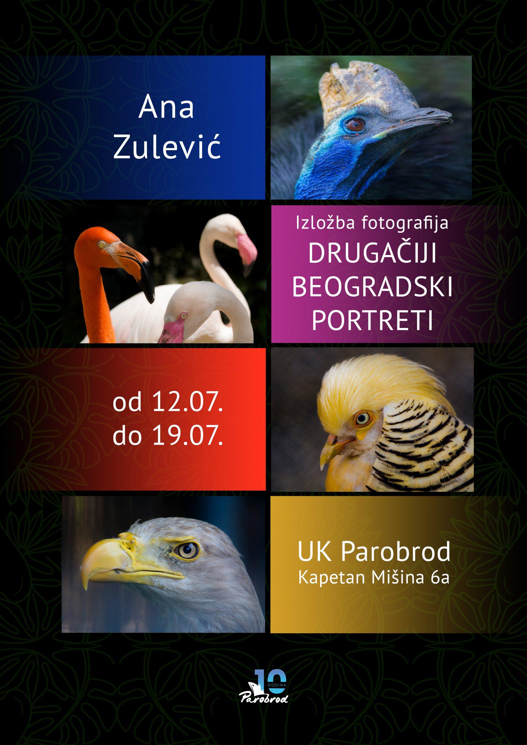 """Izložba fotografija """"Drugačiji beogradski portreti"""""""