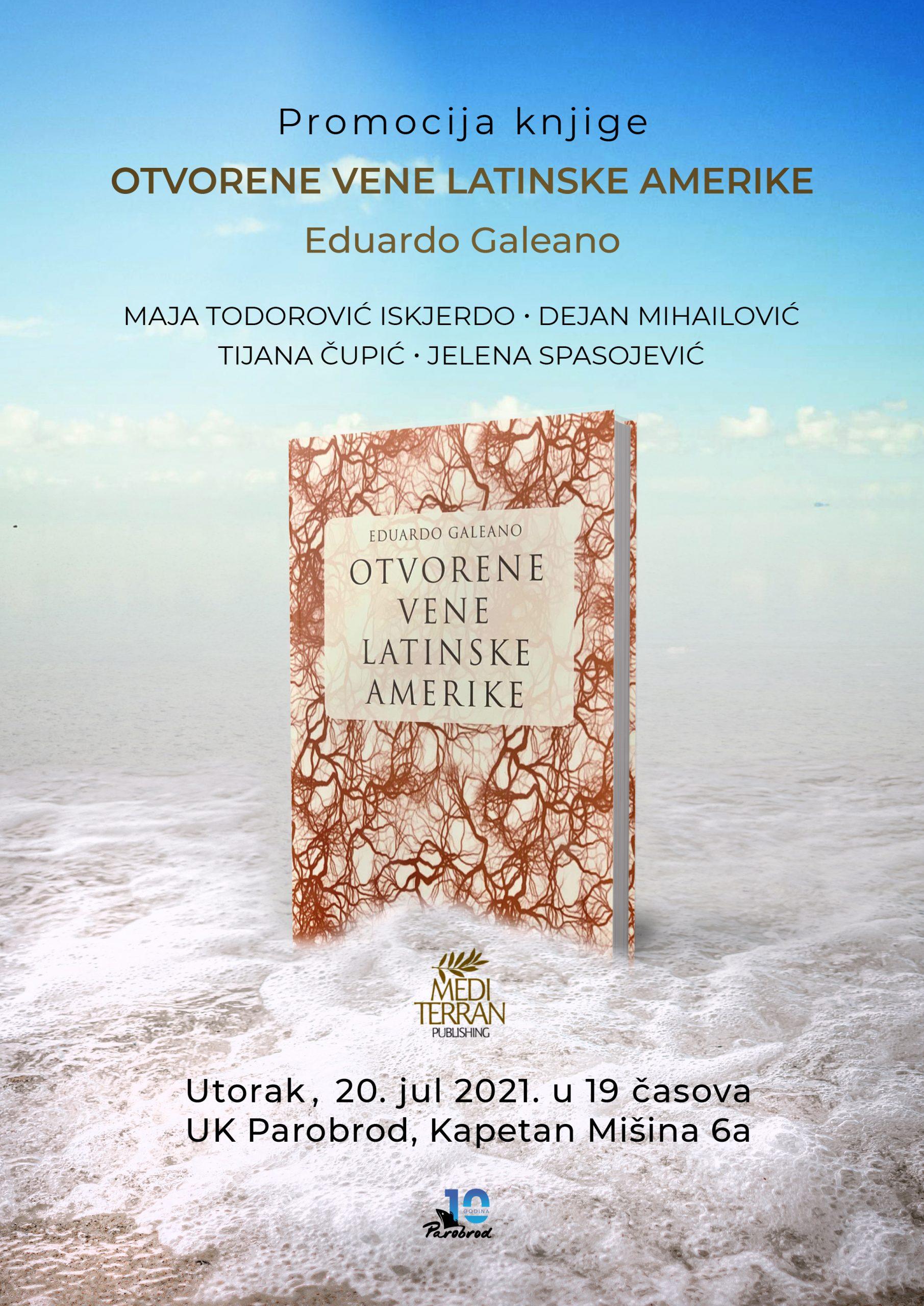 "Promocija knjige ""Otvorene vene Latinske Amerike"""